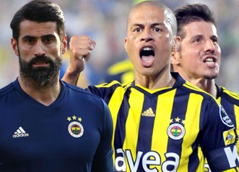 Fenerbahçe'den dikkat çeken karar! Alex, Emre Belözoğlu ve Volkan Demirel için jübile maçı yapılacak...