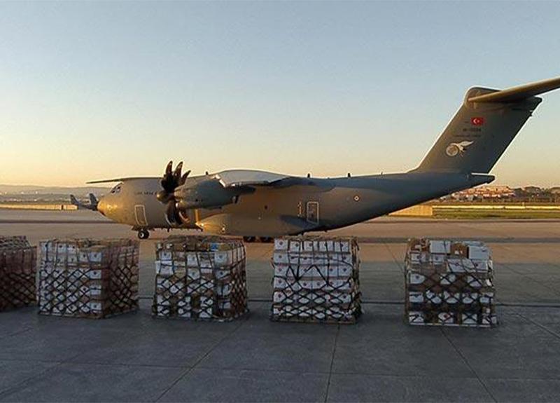 Türkiye'den Irak'a tıbbi malzeme yardımı gönderildi!