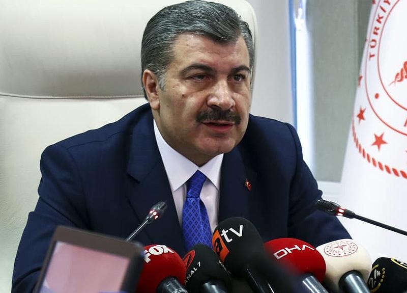 Sağlık Bakanı Fahrettin Koca canlı yayında açıkladı: İşte vaka sayılarının arttığı ve azaldığı iller