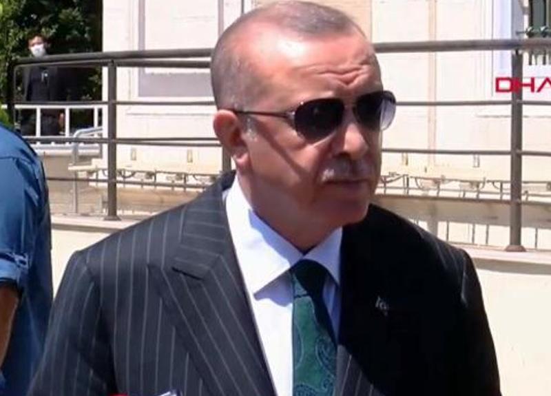 Cumhurbaşkanı Erdoğan Sakarya'daki patlama sonrası ilk açıklamayı yaptı