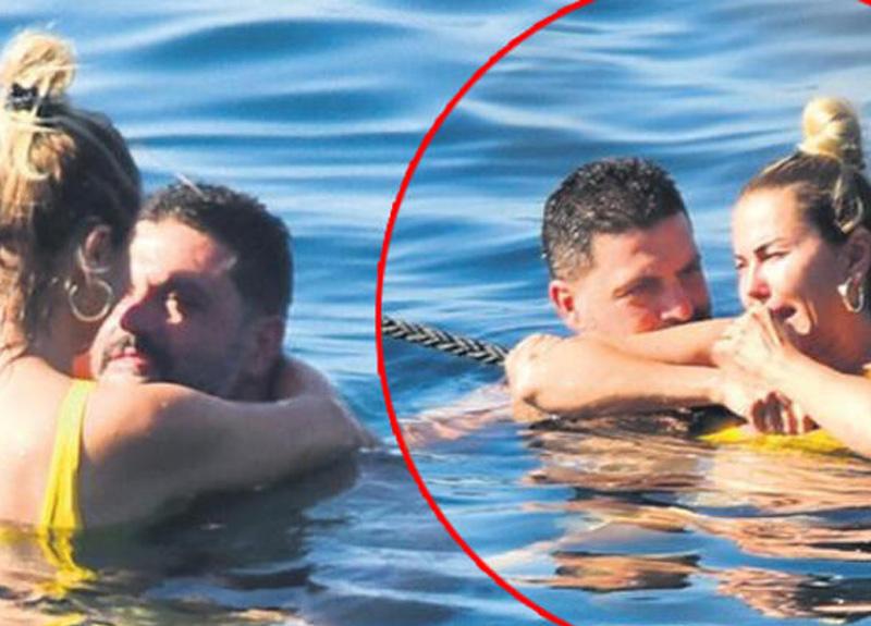 Sunucu Ece Erken, Şafak Mahmutyazıcıoğlu ile beraber tatilde görüntülendi