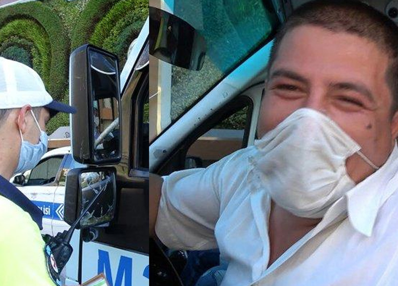 Fazla yolcu taşıyan minibüs sürücüsü cezayı yedi: Allah yemeyenlere de yemeyi nasip etsin