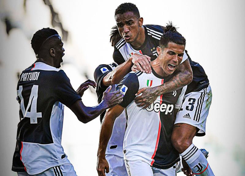 Ronaldo 2 yıl sonra frikikten gol attı, Juventus şov yaptı
