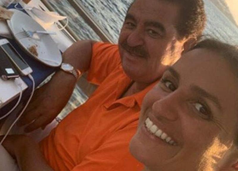 İbrahim Tatlıses, kızı Melek Zübeyde ile fotoğrafını sosyal medya hesabından paylaştı