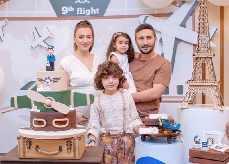 Sabri Sarıoğlu ile Yağmur Sarıoğlu'nun oğulları Sarp'a sürpriz doğum günü!