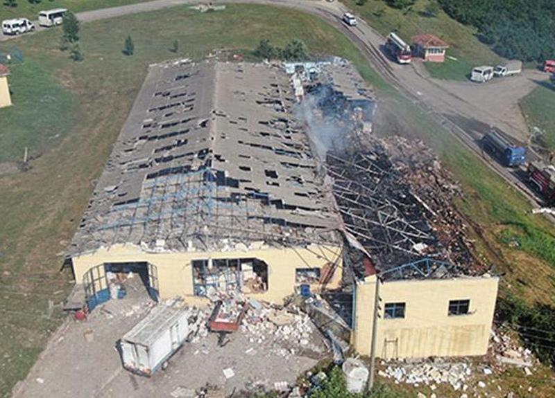 Sakarya Hendek'teki patlamayla ilgili son dakika gelişmesi: Fabrika sahibi 2 kişi gözaltında