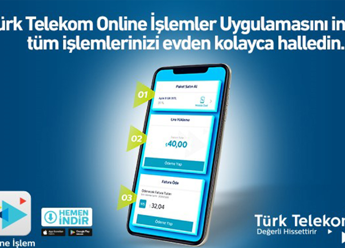 Türk Telekom Online İşlemler Uygulaması (Advertorial)
