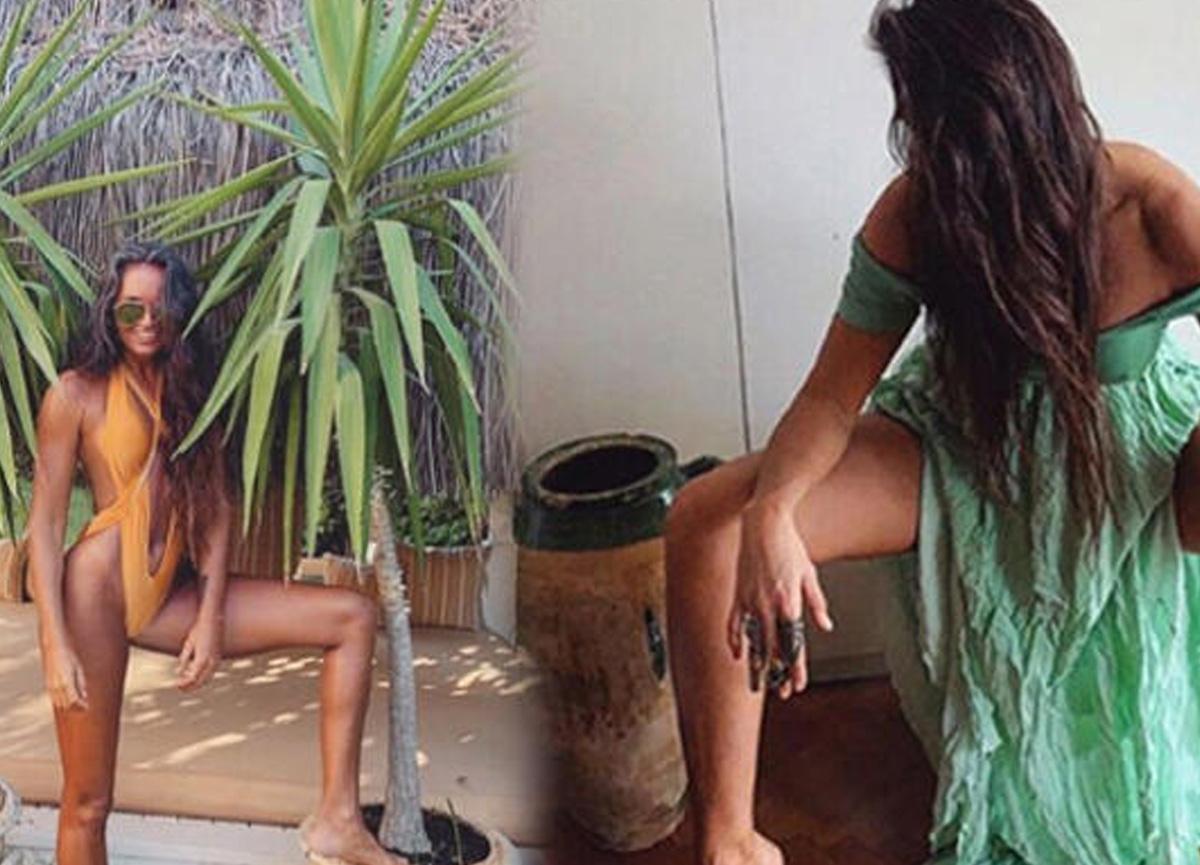 Eda Taşpınar'ın sosyal medya hesabından yaptığı bikinili paylaşımı olay oldu