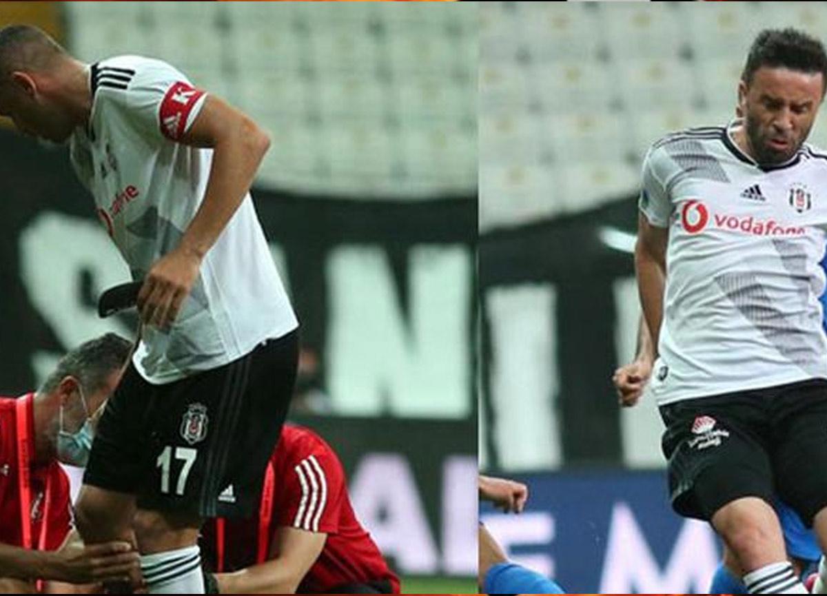 Beşiktaş'tan Burak Yılmaz ve Gökhan Gönül'ün sağlık durumlarıyla ilgili son dakika açıklaması