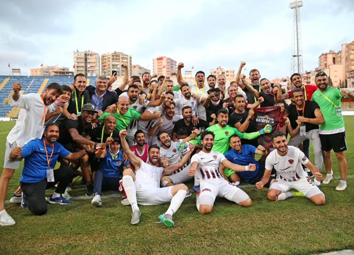Hatayspor, TFF 1. Lig'i şampiyon olarak bitirerek Süper Lig'e yükselen ilk takım oldu