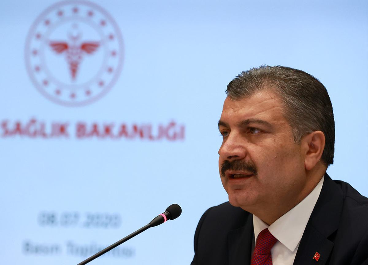 Sağlık Bakanı Fahrettin Koca, yeni koronavirüs verilerini açıkladı