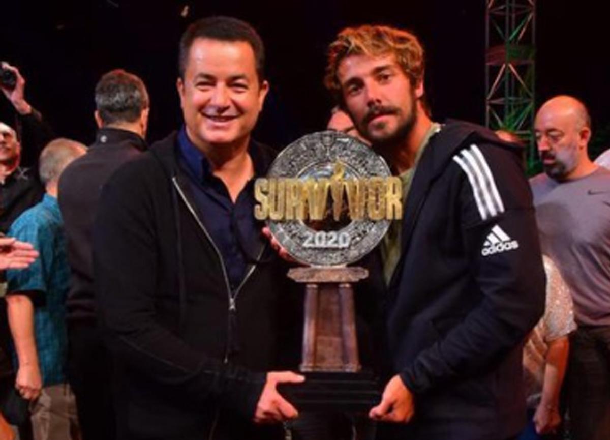 Survivor 2020 şampiyonu Cemal Can Canseven'den ilk paylaşım!