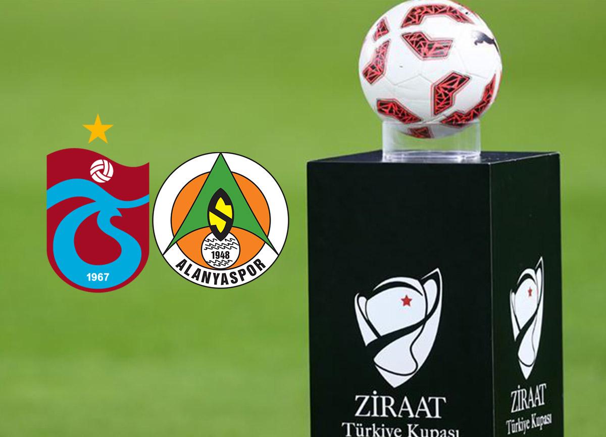 Trabzonspor - Alanyaspor maçı saat kaçta başlıyor? Ziraat Türkiye Kupası final maçı hangi kanalda? Canlı izle!