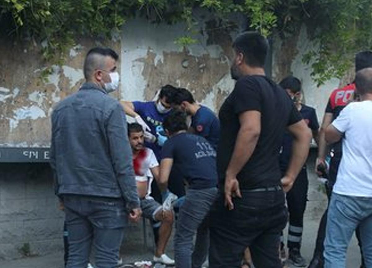 Taksim'de değnekçi terörü