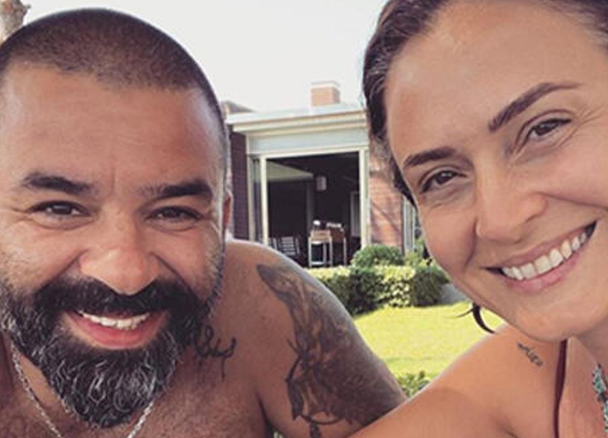 Ceyda Düvenci, eşi Bülent Şakrak ile tatilde çekilen pozunu paylaştı