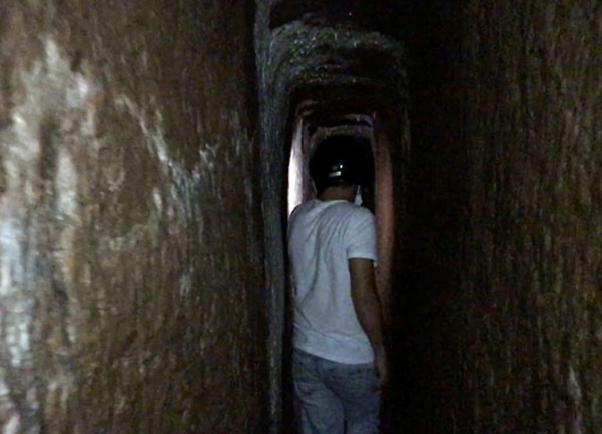 Sinop'ta gizemli bir tünel daha bulundu