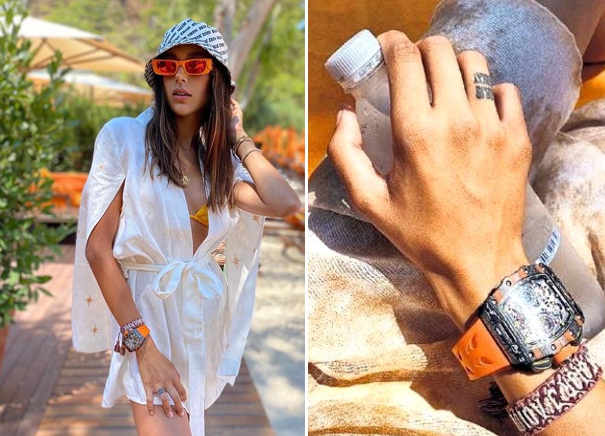 Berkay'ın eşi Özlem Ada Şahin'in kolundaki saatin fiyatı dudak uçuklattı