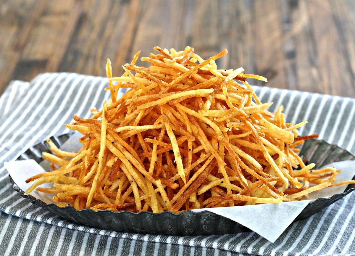 Kibrit patates nasıl yapılır, nasıl doğranır? İşte pratik, kolay çıtır çıtır kibrit patates tarifi