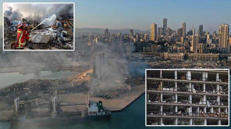 Mega patlama tehlikesi! Beyrut'takinin tam 5 katı...