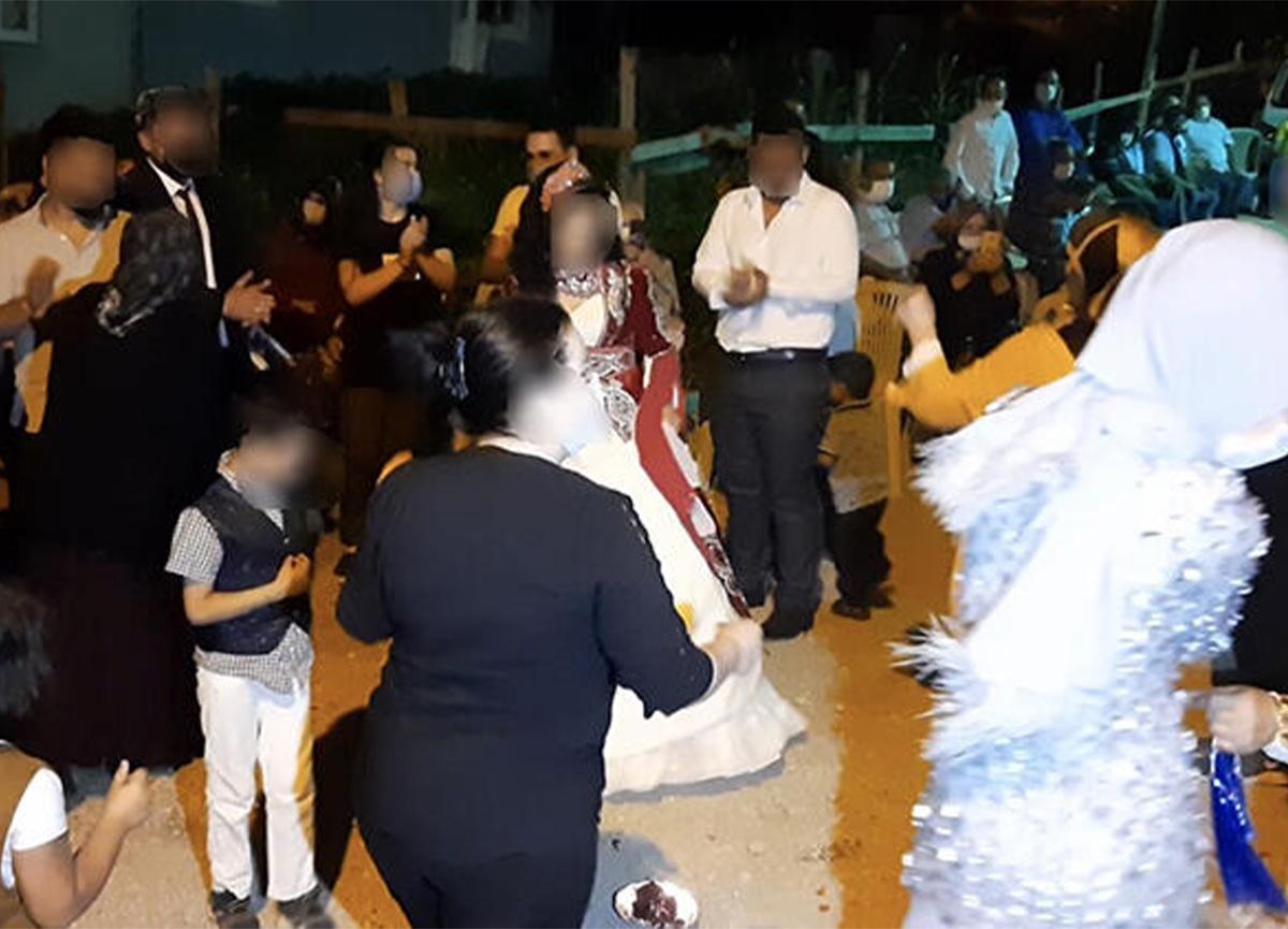 Bursa'da kızının düğününde herkese koronavirüs bulaştırdı!