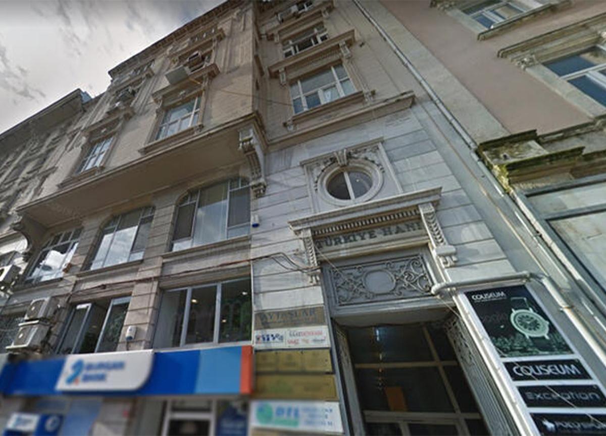 Fatih'teki tarihi Türkiye Han, icradan 42 milyon liraya satışa çıktı!