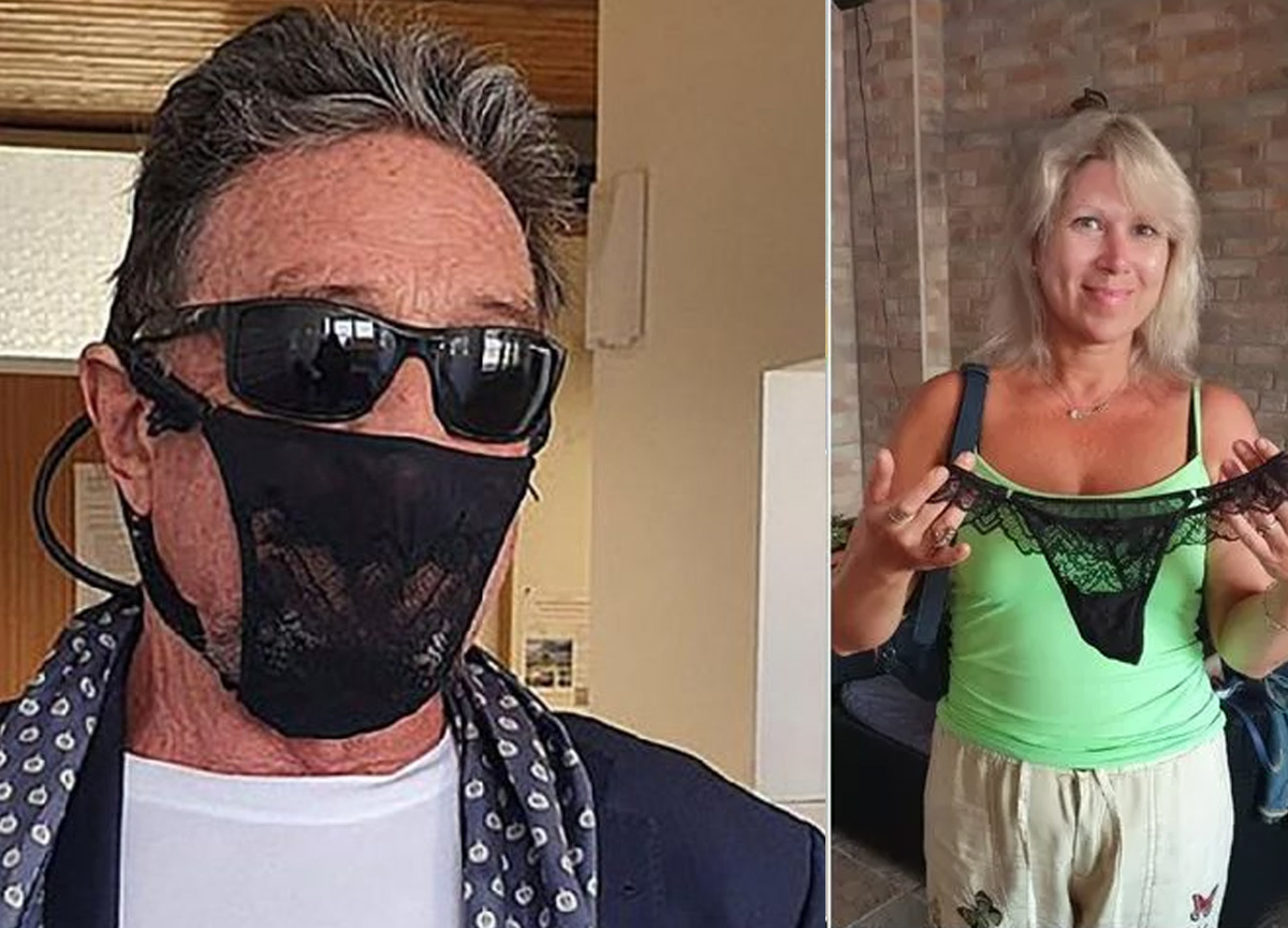 Normal maske yerine kadın iç çamaşırı takan ünlü iş insanı John McAfee gözaltına alındı
