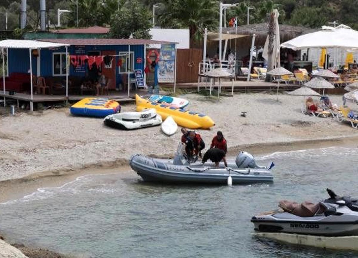 İzmir'deki tekne kazasında kaybolan 9 yaşındaki çocuk aranıyor