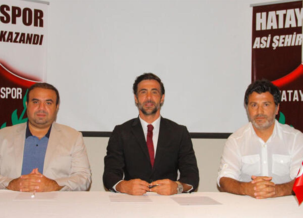 Hatayspor, Ömer Erdoğan'la 1 yıllık sözleşme imzaladı!