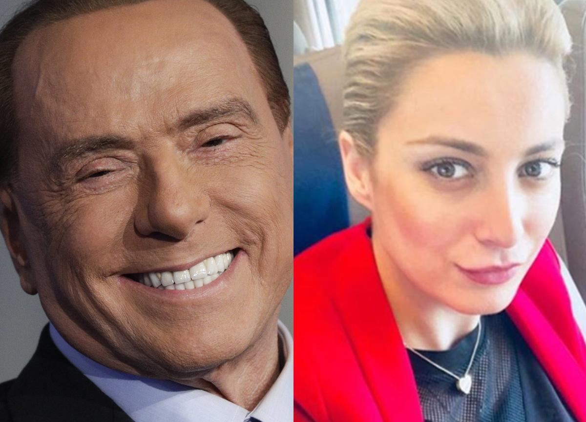 Silvio Berlusconi, kendisinden 53 yaş küçük aşkı Marta Fascina ile görüntülendi!