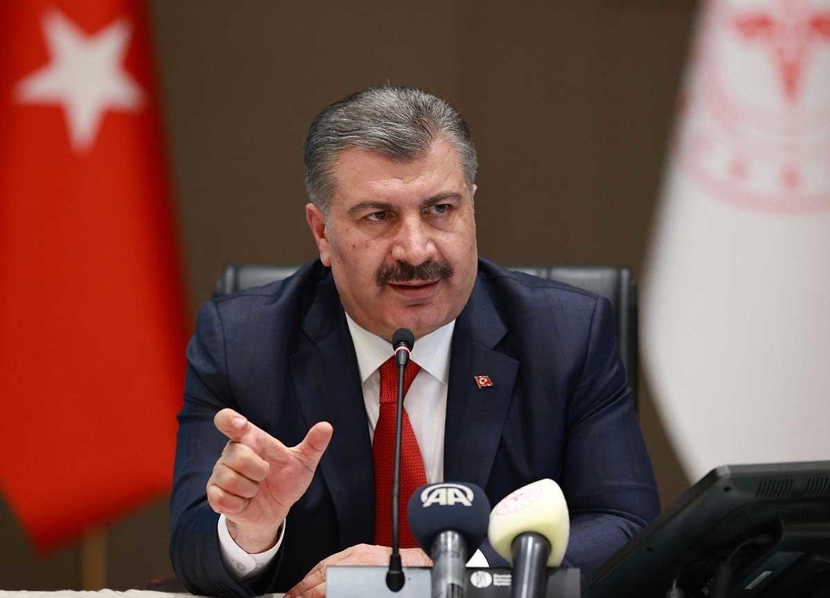 Sağlık Bakanı Fahrettin Koca açıkladı! Türkiye bugün 22 vatandaşımız yaşamını yitirdi