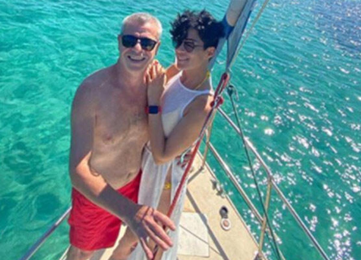 Levent Yüksel, eşi Özlem Öztürk'le ilk fotoğrafını paylaştı!