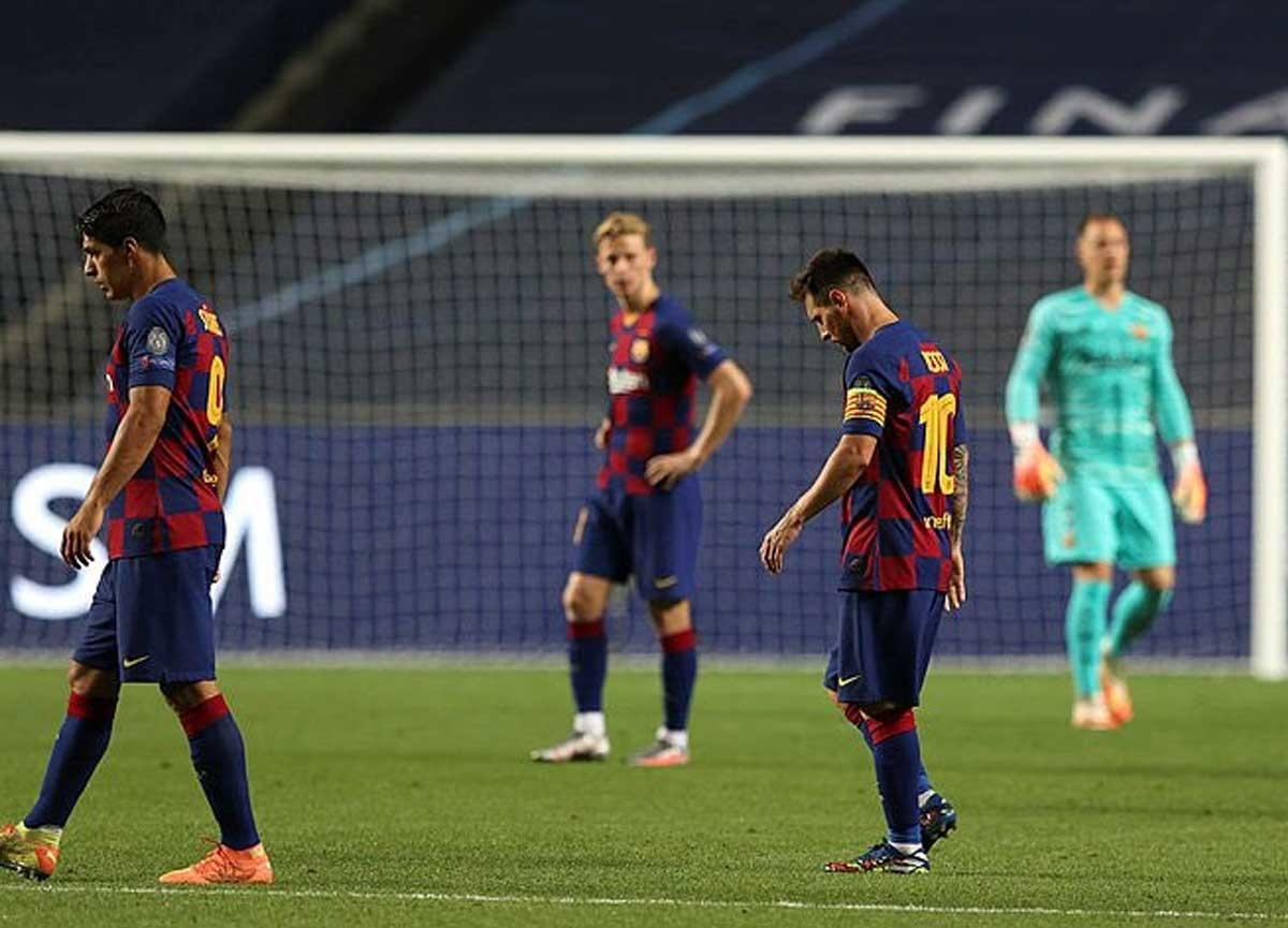 Tarihi gece! Barcelona 2-8 Bayern Münih