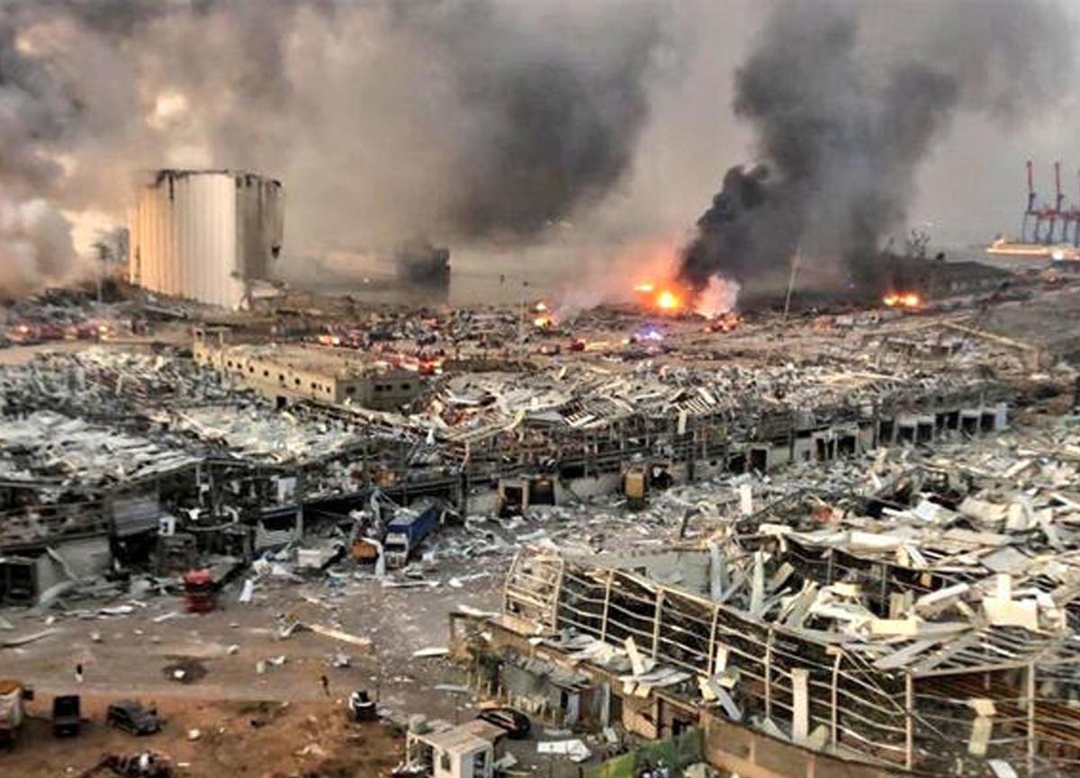 Beyrut Limanı'ndaki korkunç patlamada ölümler artıyor! Ölü sayısı 179'a yükseldi...