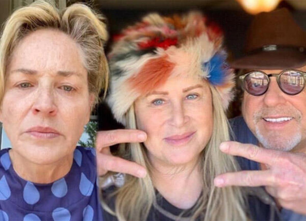 Sharon Stone'un kardeşi koronavirüse yakalandı! 'Bunu siz yaptınız'
