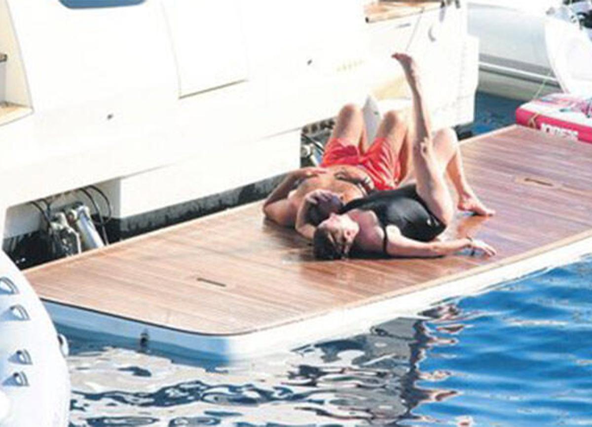 Deniz Seki sevgilisi İrfan Özçelik'le aşk tatiline devam ediyor!