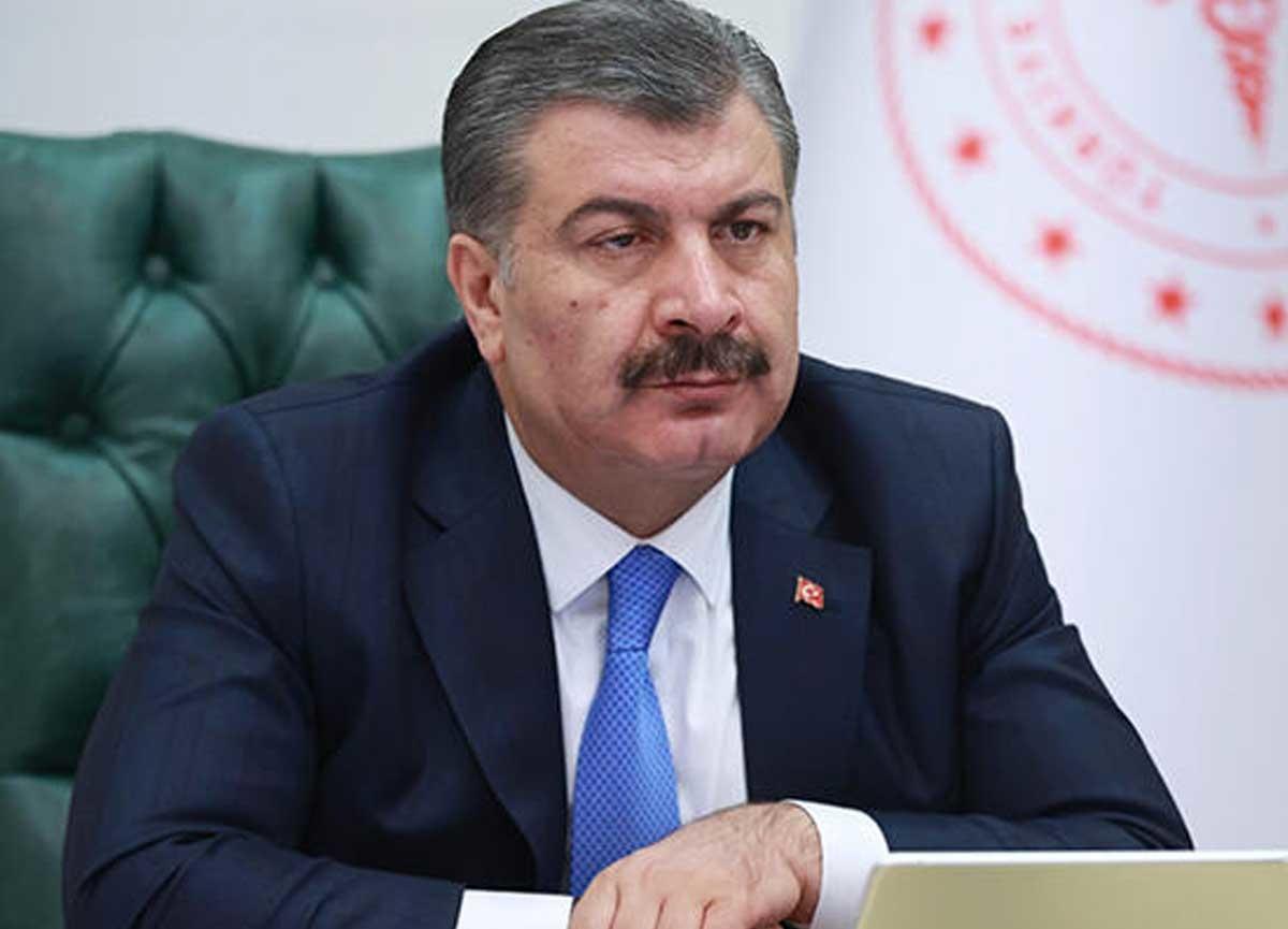 Sağlık Bakanı Fahrettin Koca açıkladı! Bugünkü hasta sayısı 1412 oldu