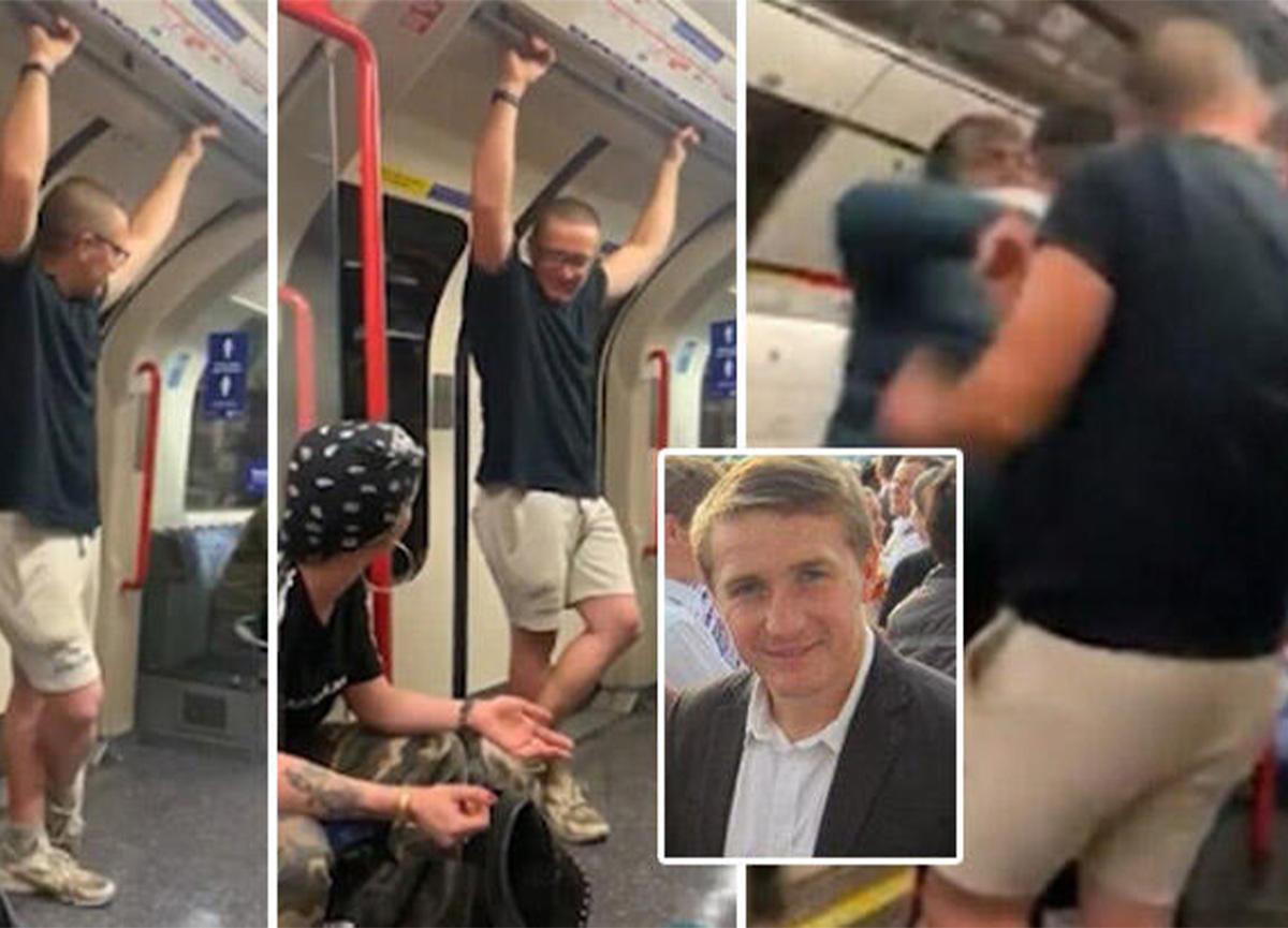 Metrodaki ırkçı adam! 'Benim evcil hayvanlarımsınız' demişti!