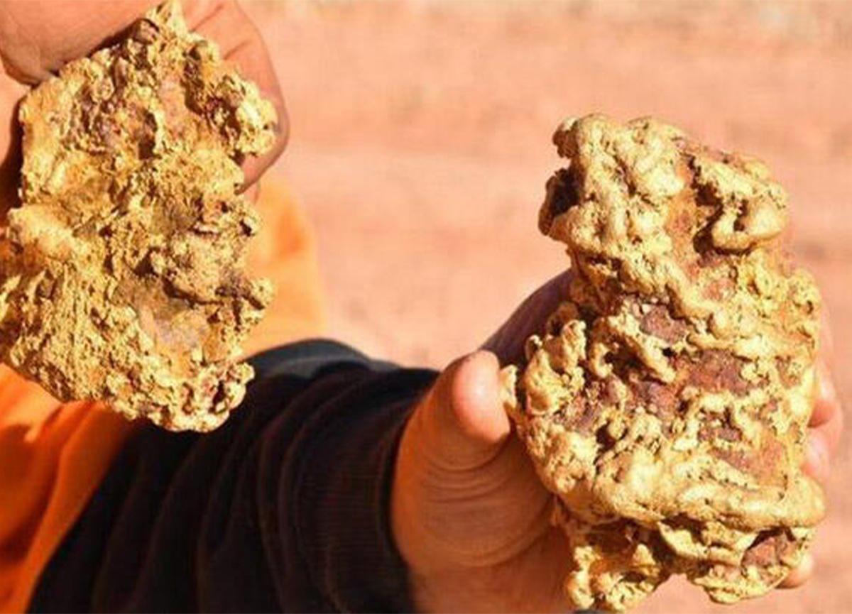 Altın avcıları, 250 bin dolarlık altın buldu!