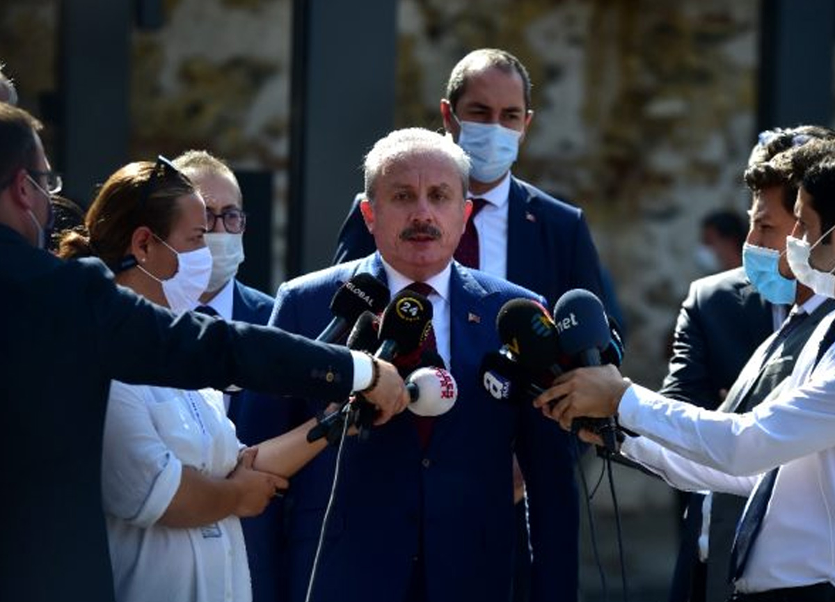Mustafa Şentop'tan doğal gaz yorumu: Bu bir başlangıç
