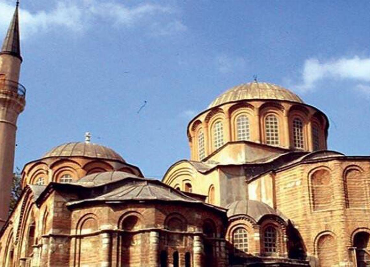 İstanbul'daki Kariye Camisi ibadete açılıyor!