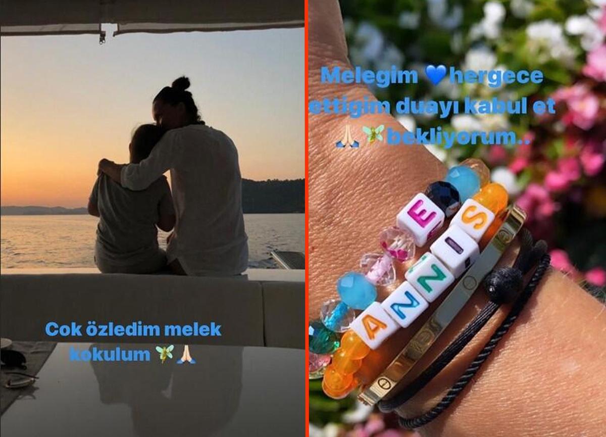 Ebru Şallı'nın sosyal medya hesabından yaptığı paylaşım herkesi duygulandırdı