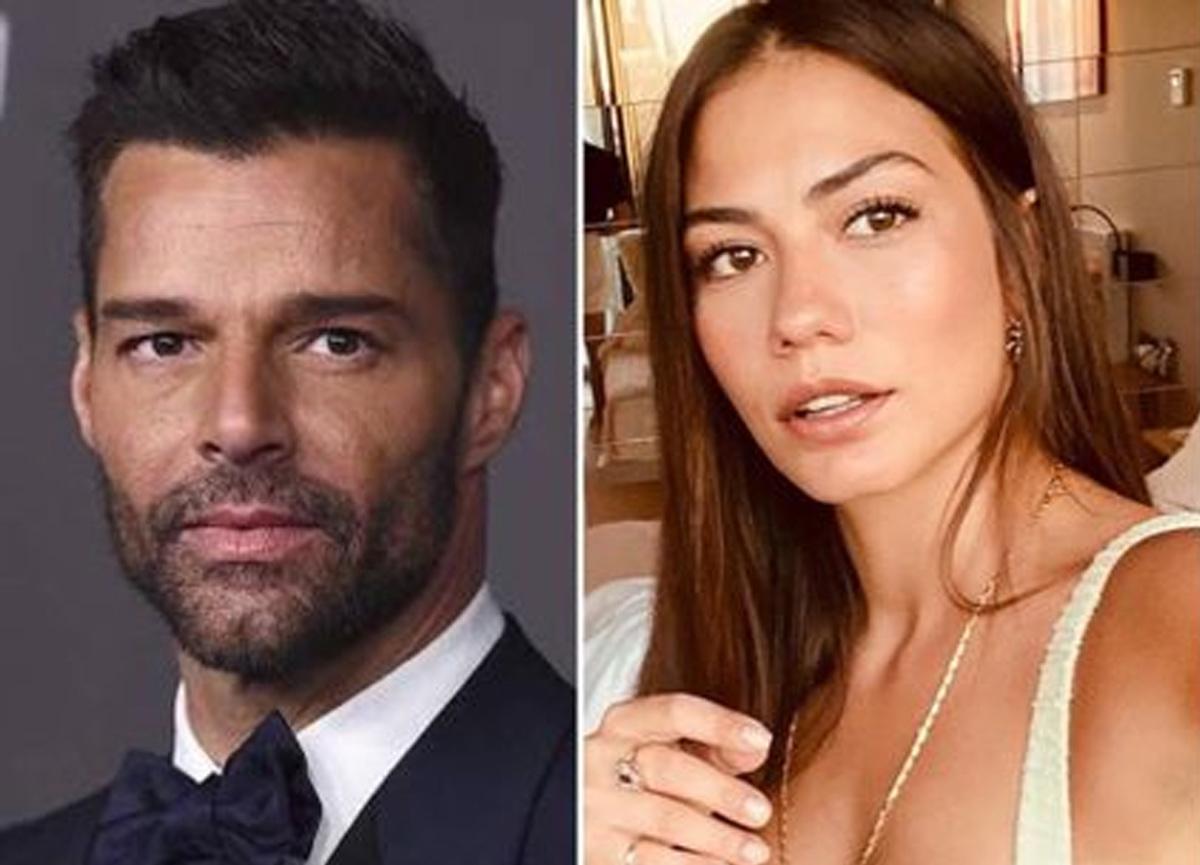 Dünyaca ünlü şarkıcı Ricky Martin Demet Özdemir'i takibe aldı