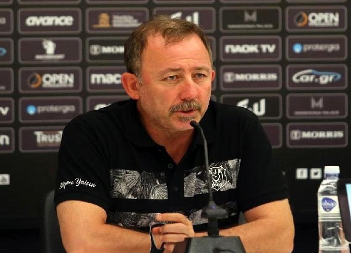Sergen Yalçın yarın oynanacak PAOK maçını değerlendirdi