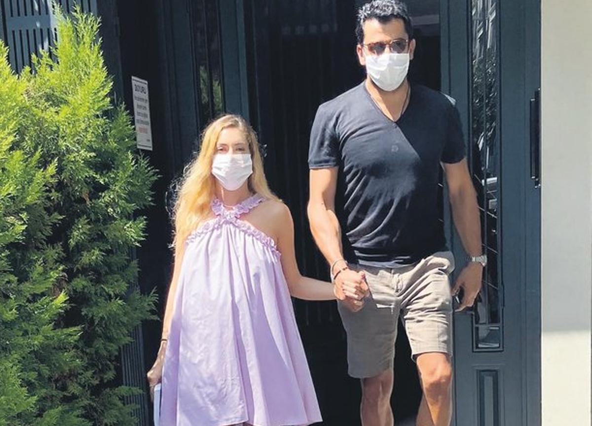 Kenan İmirzalıoğlu ve Sinem Kobal 7 ay sonra ilk kez görüntü verdi: Son iki ayımız kaldı