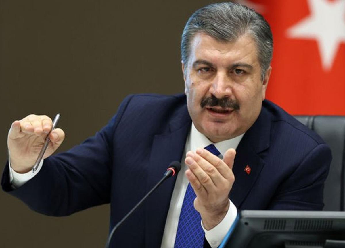 Sağlık Bakanı Fahrettin Koca günlük rakamları paylaştı