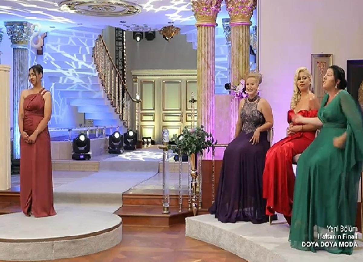 Doya Doya Moda'da kim elendi? 28 Ağustos Cuma Doya Doya Moda'da haftanın birincisi kim oldu? Günün konsepti!