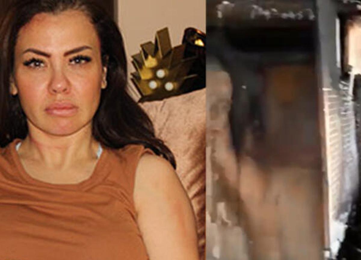 Şarkıcı Lara'nın Alanya'daki evinde yangın çıktı