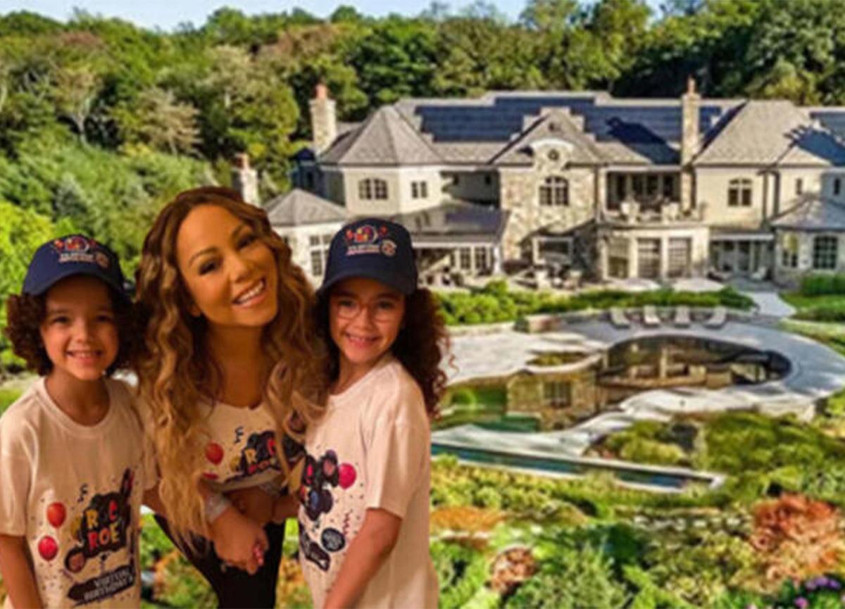 Milyon dolarlık inziva! İşte Mariah Carey'in karantina evi!
