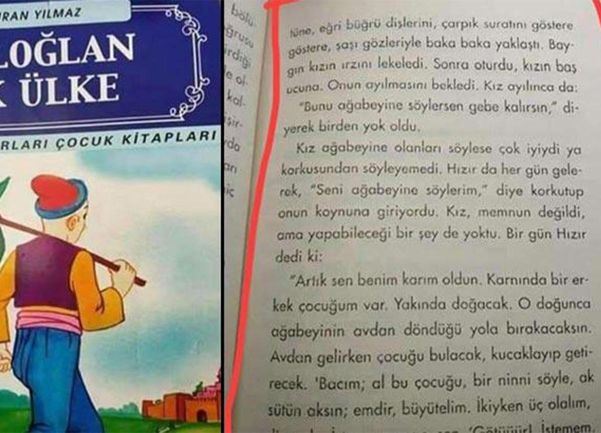 Bir çocuk kitabında daha skandal ifadeler! Bakanlık karar verdi!