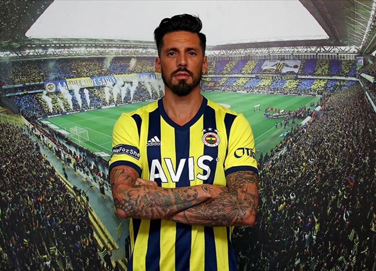 Fenerbahçe'de Jose Sosa müjdesi! Antrenmanlara başladı...